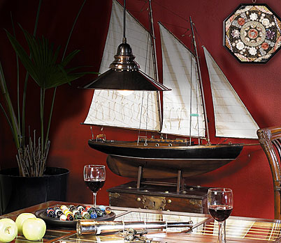 model-boat-decor
