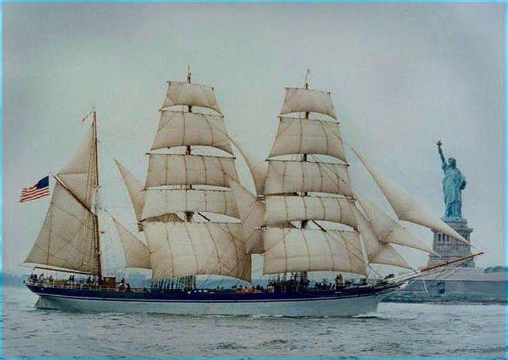 Tall Ship New York Harbor