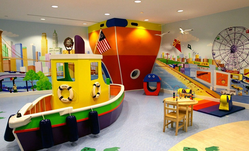nautical kids interior