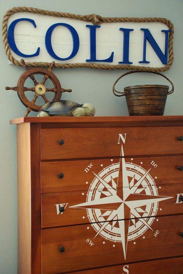 DIY nautical decorating