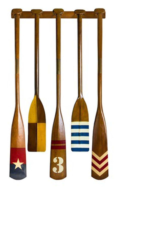 Set of 5 Royal Barge Oars (6)