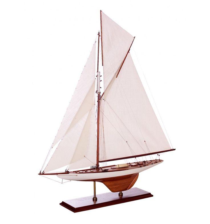 1899 Exact ship model replica Americas Cup Columbia